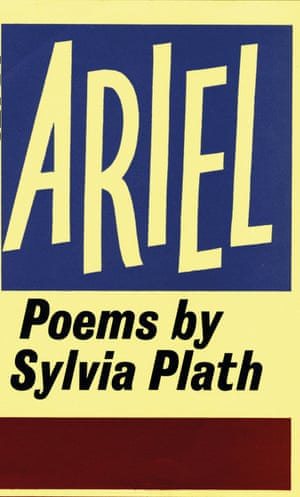 The cover artwork for Sylvia Plath's Ariel.
