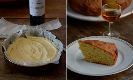 Rachel Roddy's recipe for marsala cake