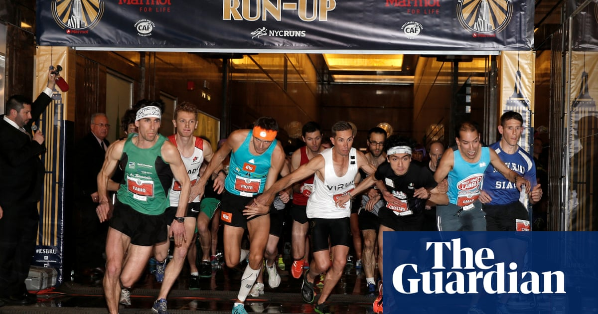 14656f4c0fb Running up the Empire State Building is exhausting – and hugely rewarding