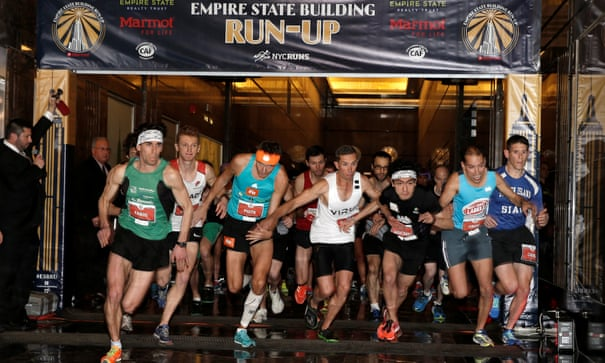 Running up the Empire State Building is exhausting – and