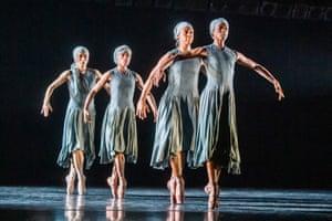 Ingoma by Mthuthuzeli November from Ballet Black's triple bill.