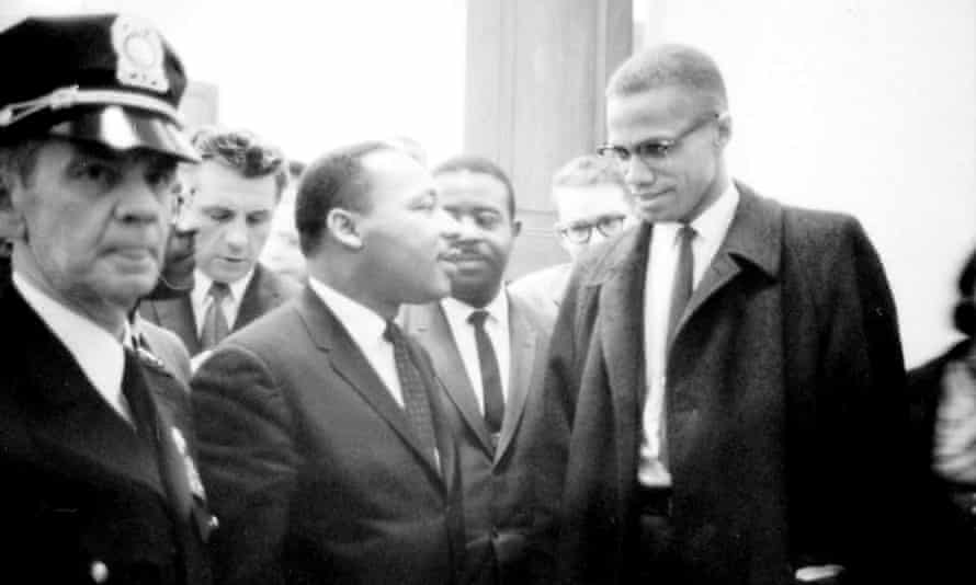 Martin Luther King and Malcolm X represent either side of  the 'white allyship' debate