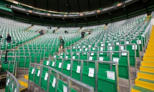 Rail seats at Celtic Park could now be permitted in the Football League at 21 grounds that are not subject to all-seater requirements.