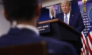 """Trump response to CNN's reporter: """"You people are so pathetic at CNN."""""""