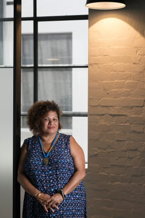 Dixie Link-Gordon, a domestic violence worker in Sydney