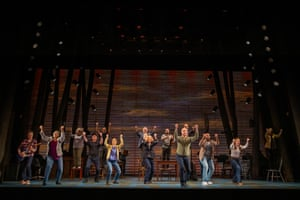 Australian production of Canadian musical Come From Away