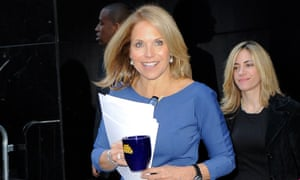 The news anchor Katie Couric joined Yahoo in 2013