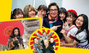 Cereal offenders... (from left) Joanna Lumley's Japan; Banzai; Sue Perkins in Japan.