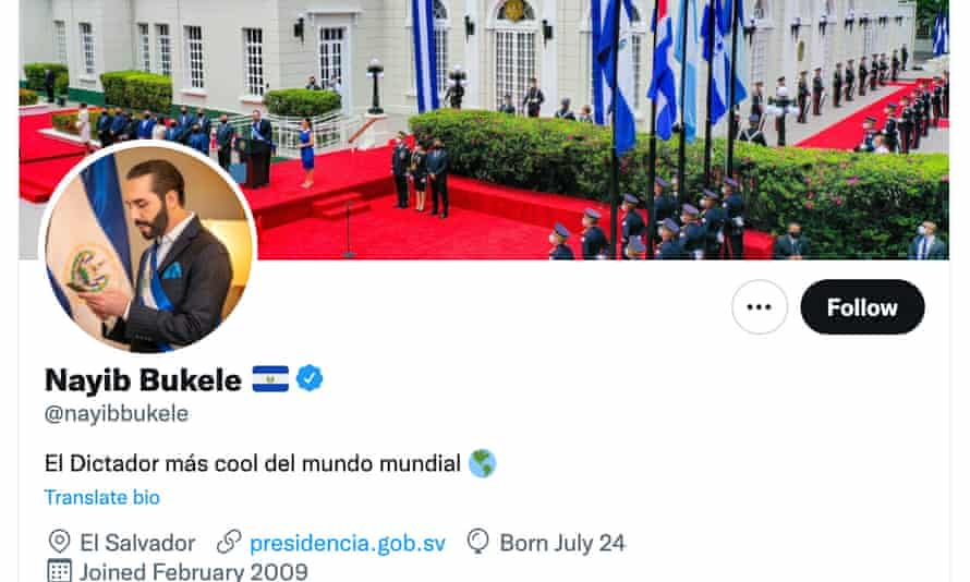 'El Dictador más cool del mundo mundial': The coolest dictator in the world.