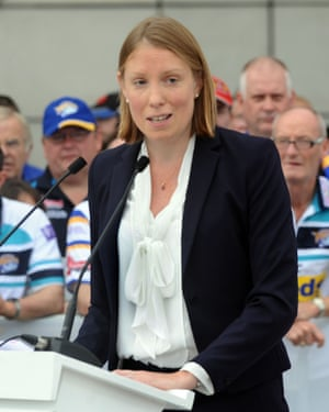Tracey Crouch, sports minister,