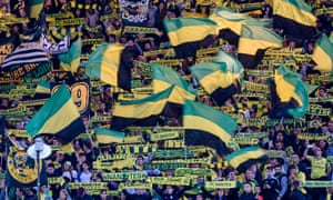 Nantes fans have only seen their team score nine goals this season but somehow they are second in the league.