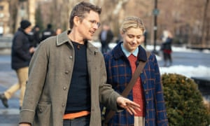 Maggie's Plan - 2015<br>No Merchandising. Editorial Use Only. No Book Cover Usage Mandatory Credit: Photo by Sony Pictures/Everett/REX/Shutterstock (5695062z) Ethan Hawke, Greta Gerwig Maggie's Plan - 2015