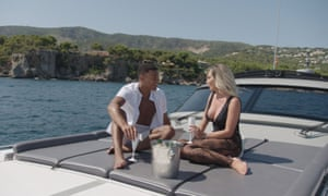Wes Nelson and Megan Barton Hanson from the TV show Love Island (2018).