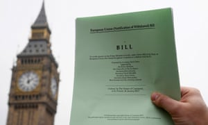 The Brexit article 50 bill