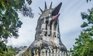 Gereja Ayam, AKA the Chicken Church, near Magelang, Indonesia.