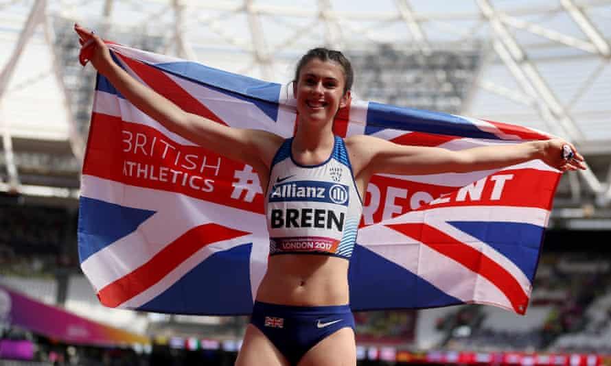 Paralympian Olivia Breen