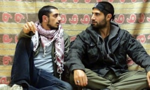 Riz Ahmed and Kayvan Novak in Four Lions.