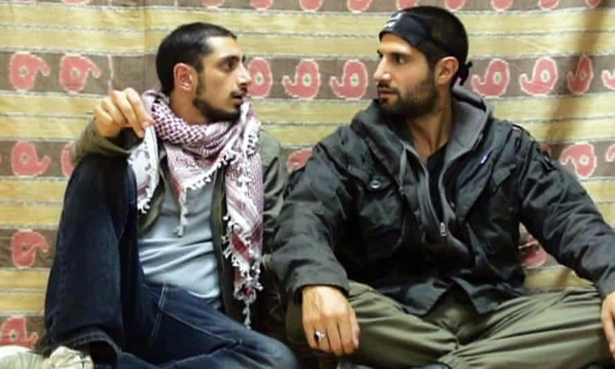 Riz Ahmed and Kayvan Novak in Four Lions.