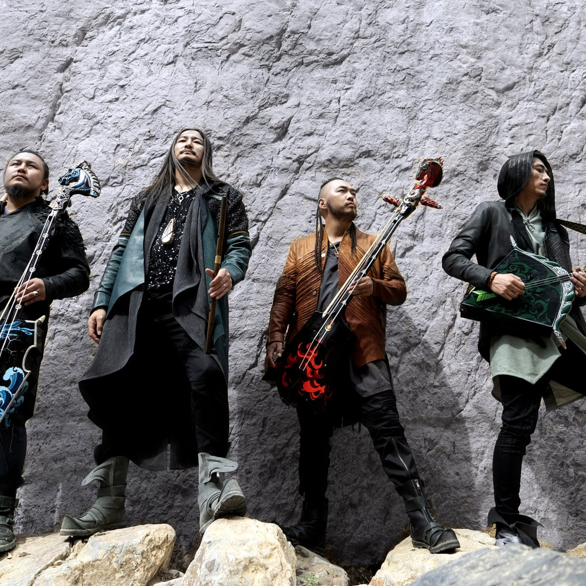 Steppe Change How Mongolian Rock Band The Hu Conquered The World Metal The Guardian