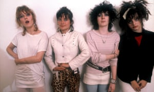 From left: Viv Albertine, Palmolive, Tessa Pollitt and Ari Up of the Slits, in the 1970s.