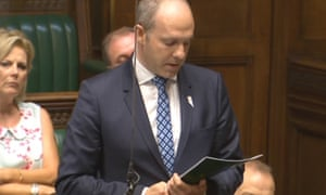 New disabilities minister Justin Tomlinson. 'It was only after pressure from charities that the post was replaced'