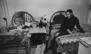 Edith (left) and Edie in Grey Gardens
