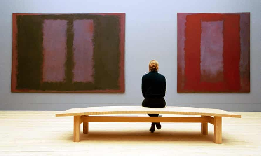 An imaginary place that's far bigger than the space itself … the Rothko room at Tate Modern.
