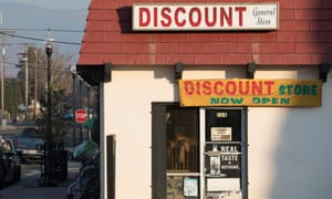The discount general store in Porterville.