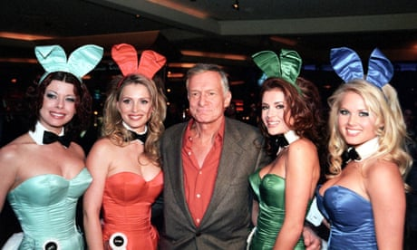 I called Hugh Hefner a pimp, he threatened to sue. But that's what he was