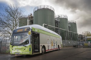 GENeco's Bio-Bus must refuel at the Bristol sewage works