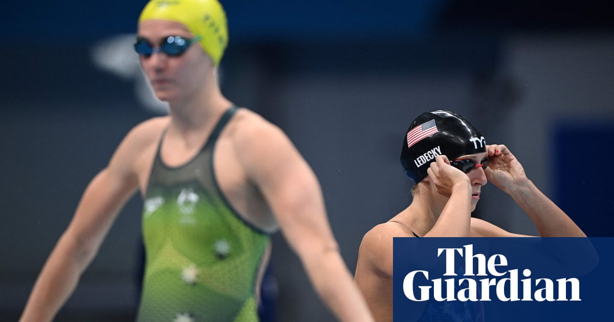 Prevail again and Ariarne Titmus can lay claim to Katie Ledecky's crown