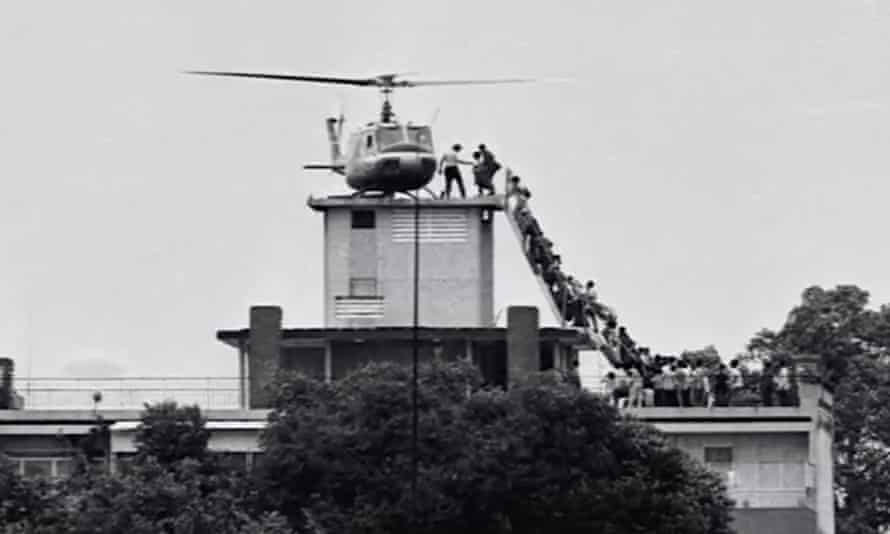 Footage from Ken Burns's documentary series The Vietnam War.