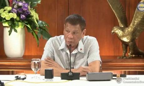Duterte pardons US marine jailed for killing transgender woman Jennifer Laude – video