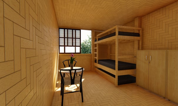 Bamboo House Easy To Build Sustainable Cubo Wins Top Prize