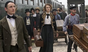 Keira Knightley in a scene from Colette, the next film from the Woolley/Karlsen stable.