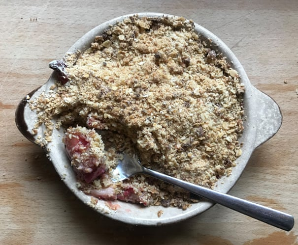 How to make the perfect rhubarb crumble | Food | The Guardian