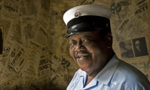 Legendary New Orleans pianoman Fats Domino, pictured here in 2007, makes the list with My Girl Josephine.