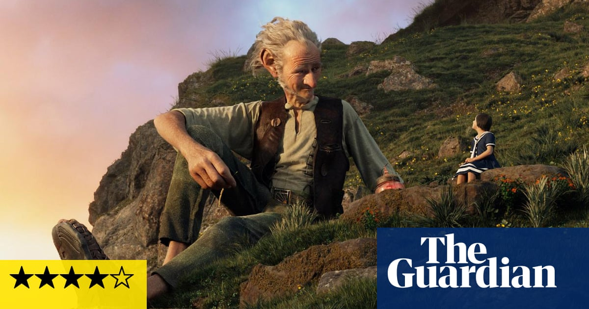 The Bfg Review A Scrumdiddlyumptious Feast Film The Guardian