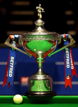 The Trophy won by the new World Snooker Champion, Stuart Bingham