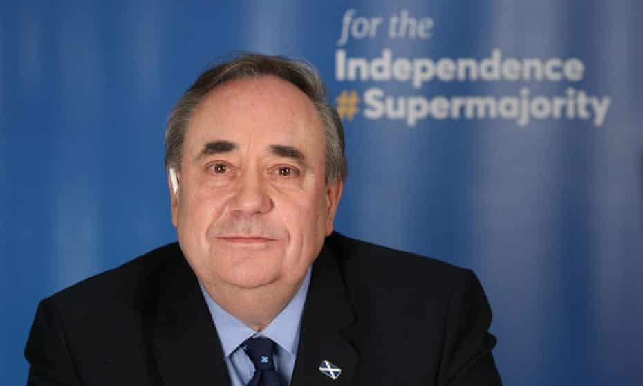 Alba party leader and former first minister of Scotland Alex Salmond