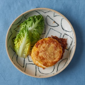 Skye McAlpine's baked polenta with taleggio.