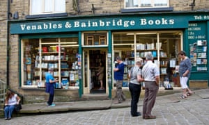 An independent bookshop in Haworth, West Yorkshire.