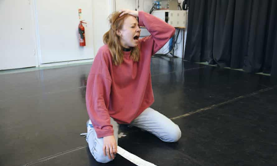 Painful audition … Ellie White in mockumentary Petrichor.