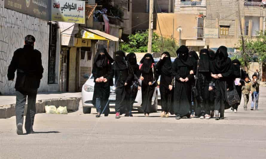 Schoolgirls, Raqqa