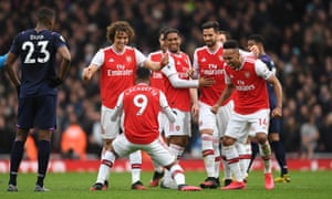 Arsenal 1 0 West Ham Southampton 0 1 Newcastle And More Clockwatch As It Happened Football The Guardian