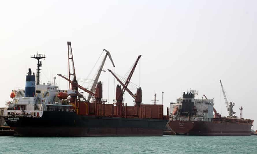 Hodeidah handles some 80% of Yemen's aid supplies after three years of civil war.