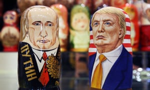Putin and Trump Russian dolls … the start of a diplomatic thaw?