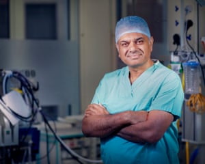 Consultant cardiothoracic surgeon Kulvinder Lall on Operation Live.