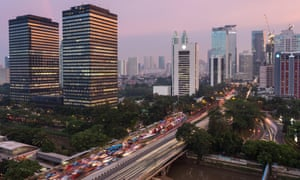 Jakarta has been named the most gridlocked city on the planet.