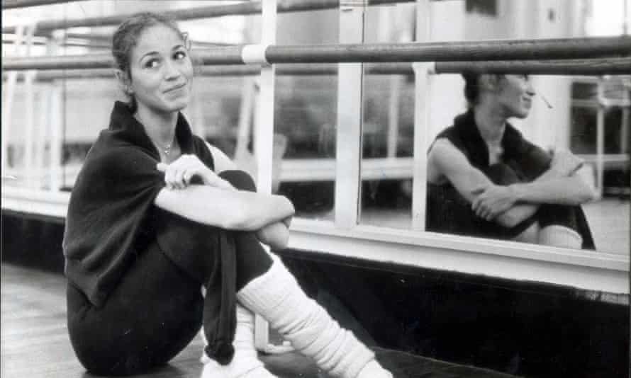 Bryony Brind in 1981, the year she was plucked from the corps de ballet to dance the lead in Swan Lake for the Royal Ballet.
